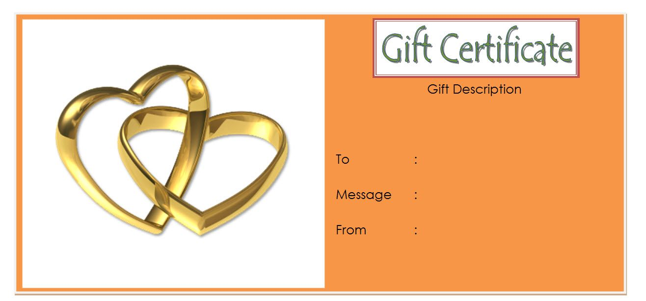 Happy Anniversary Gift Certificate Template Free Gold Happy Anniversary Gifts Gift Certificate Template Certificate Templates