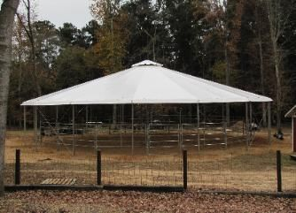 Round Pen Cover Covered Round Pen Equi Cover Round Pen