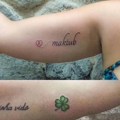 Resultado De Imagen Para Maktub Tattoo Pulso Tattoo Tatuagens