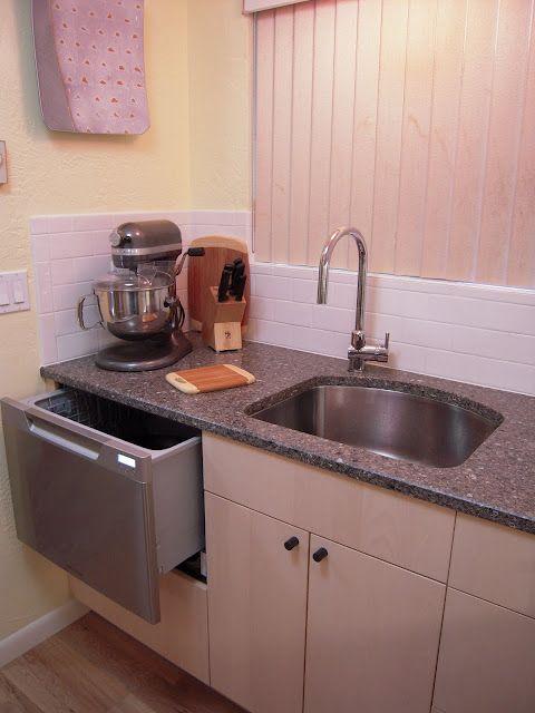 Drawer Dishwasher Kitchen Design Small Space Kitchen Design