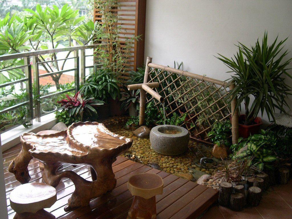 Home And Garden Photo Idea | Balcony and Rooftop Gardens | Pinterest ...