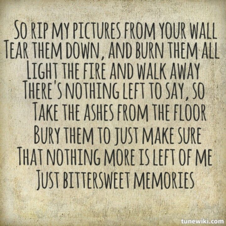bittersweet memories by bullet for my valentine my favorite song