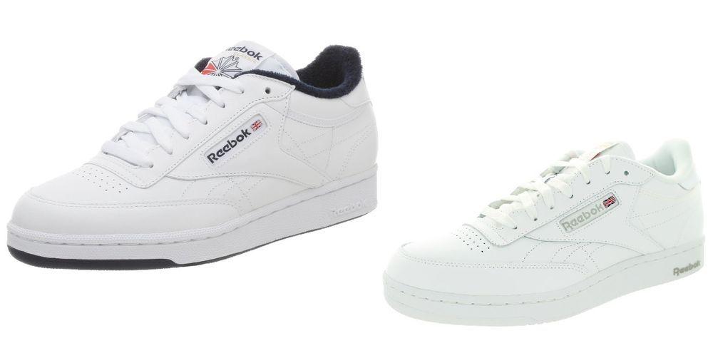 Reebok Classic Club C85 White Glen Green AR0456 Mens Casual Shoes Sneaker Sizes
