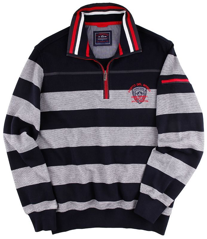 Sportives #Sweatshirt aus der #Mode von CLAUDIO CAMPIONE.