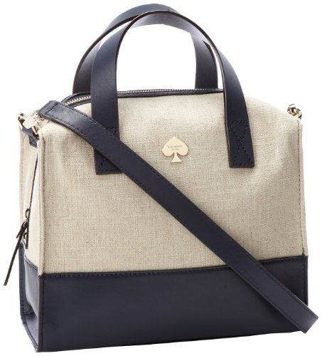 7276cb3f760c Kate Spade New York Lincoln Square Fabric Little Kennedy PXRU4155 Satchel   202.73 (36% OFF