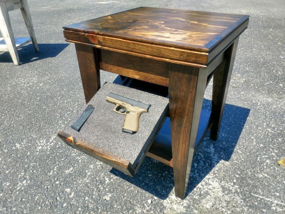 Defender Series Concealment End Table End Tables Concealment