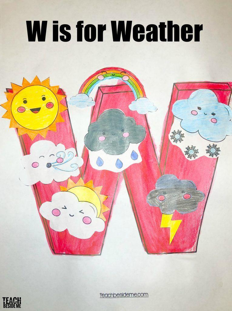 Letter of the Week: Preschool Letter W Activities | Alphabet
