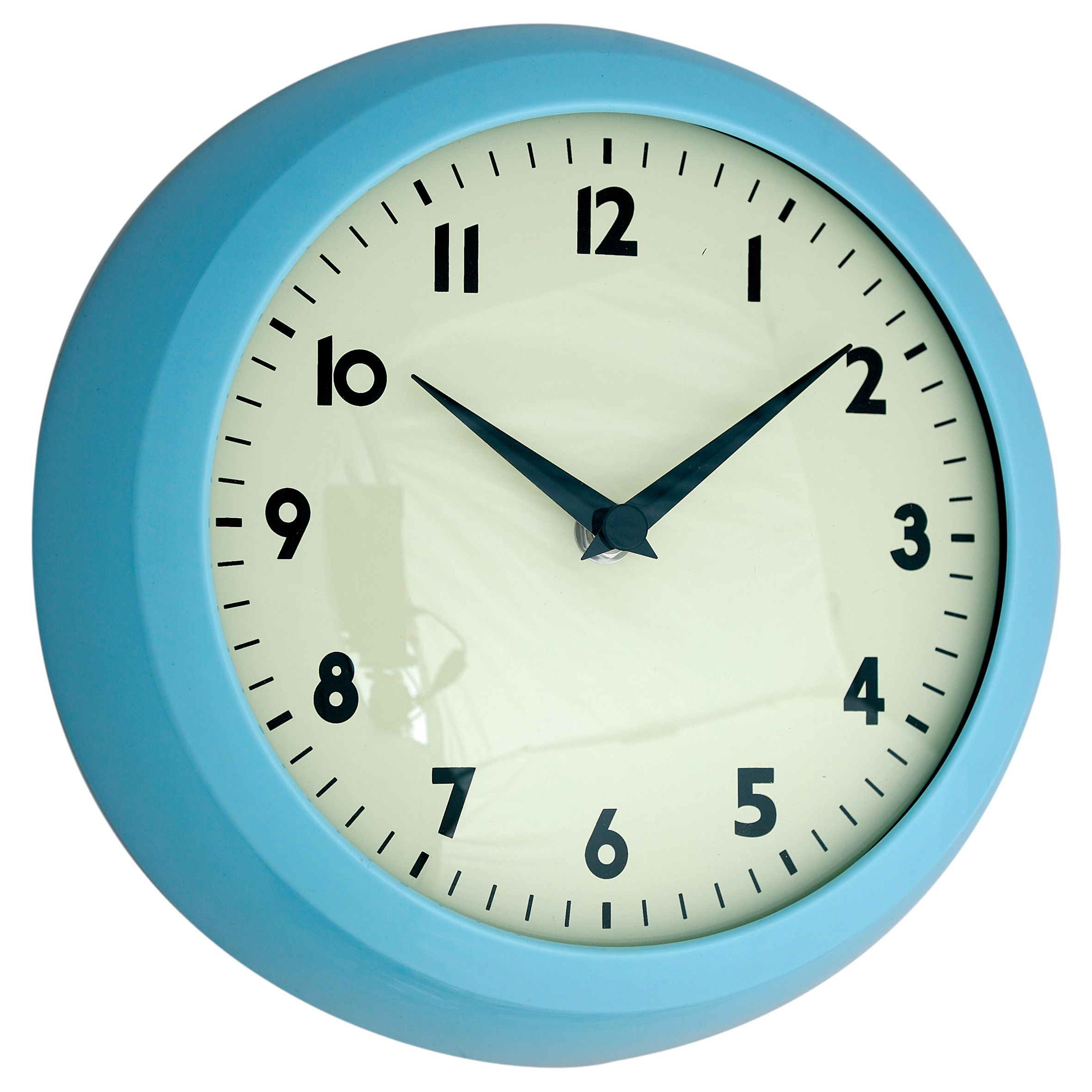 Gorgeous things for walls: Retro kitchen wall clocks with black ...
