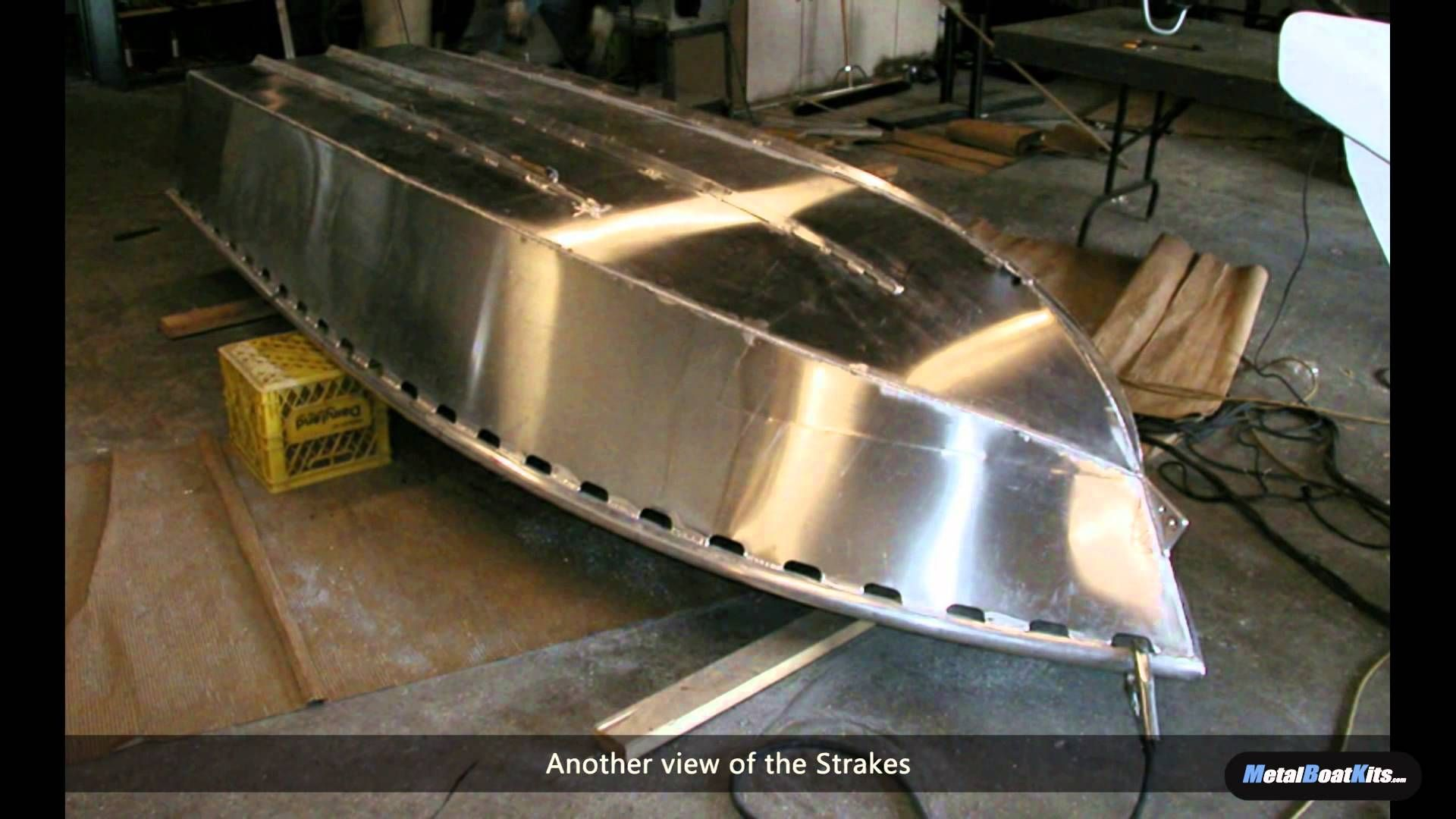 Building A 12 Foot Aluminum Fishing Skiff From A Kit Aluminum Boat Kits Aluminum Fishing Boats Aluminum Boat