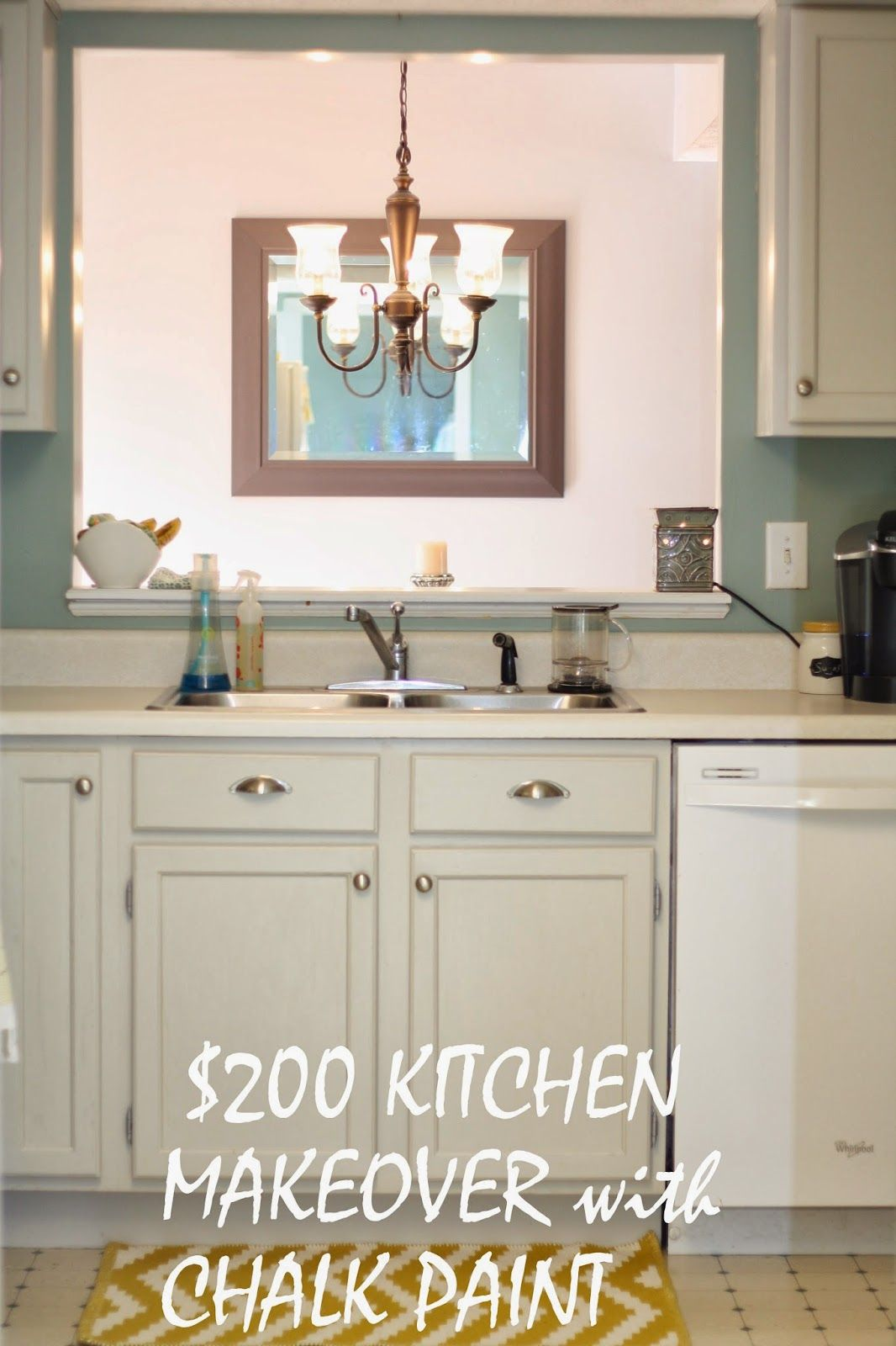 Chalk Paint Kitchen Cabinets With Maison Blanche In Silver Mink! No Priming,  No Sanding