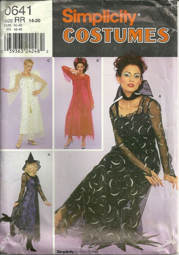Simplicity Sewing Pattern 9966 Misses Gypsy Princess Costumes Size 14-20 RR