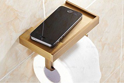 The Worldu0027s Most Beautiful Toilet Paper Holders (!) *could Also Work As A  Tea Towel Holder In The Kitchen Or A Tiny Display Shelf*