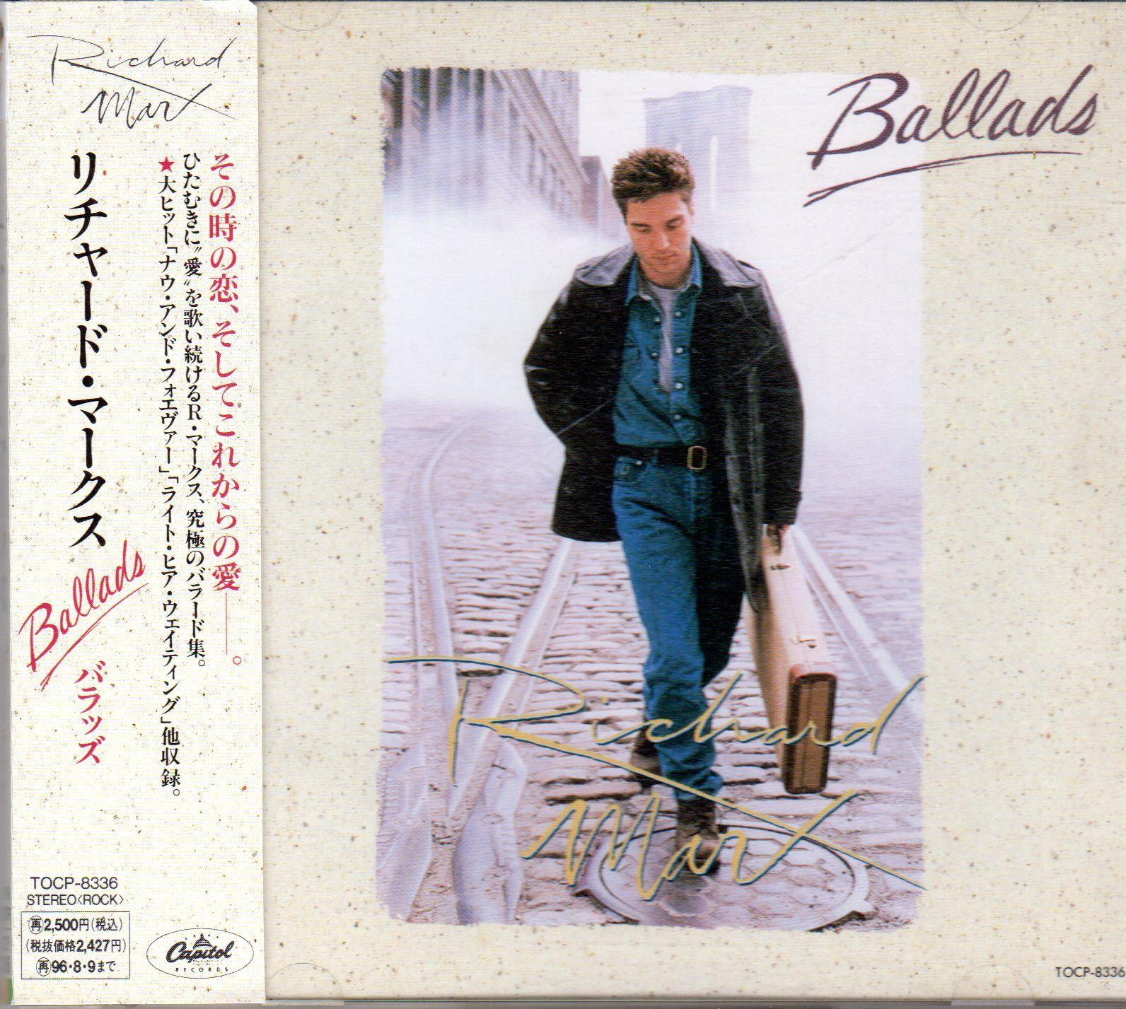 Richard marx ballads richard marx japanese imports