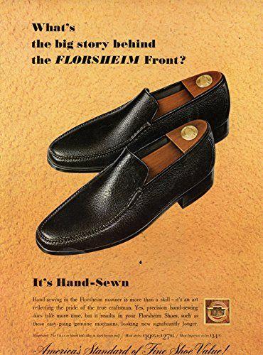 Florsheim Shoes Vintage Magazine Ad America S Standard Https