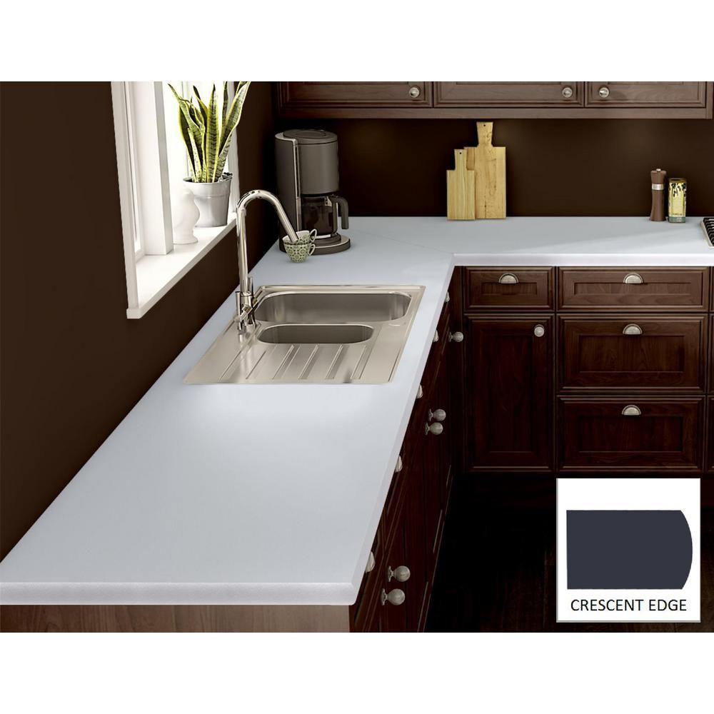 Wilsonart Designer White Laminate Custom Crescent Edge-C-F ...