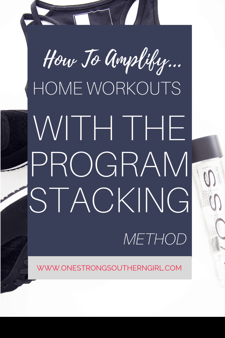 Program Stacking--The Simple Way to Get Fast Results in Your Home Workouts