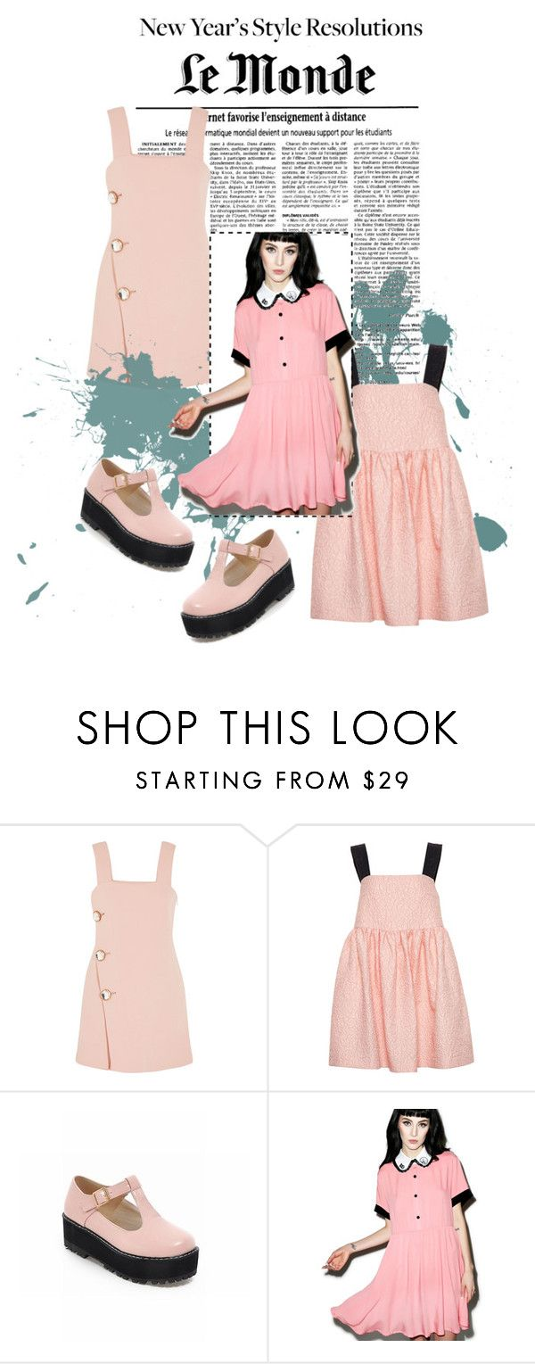 """""""Up Town Punk"""" by dancergurlb ❤ liked on Polyvore featuring Marni, Natasha Zinko, Lazy Oaf and newyearstyle"""