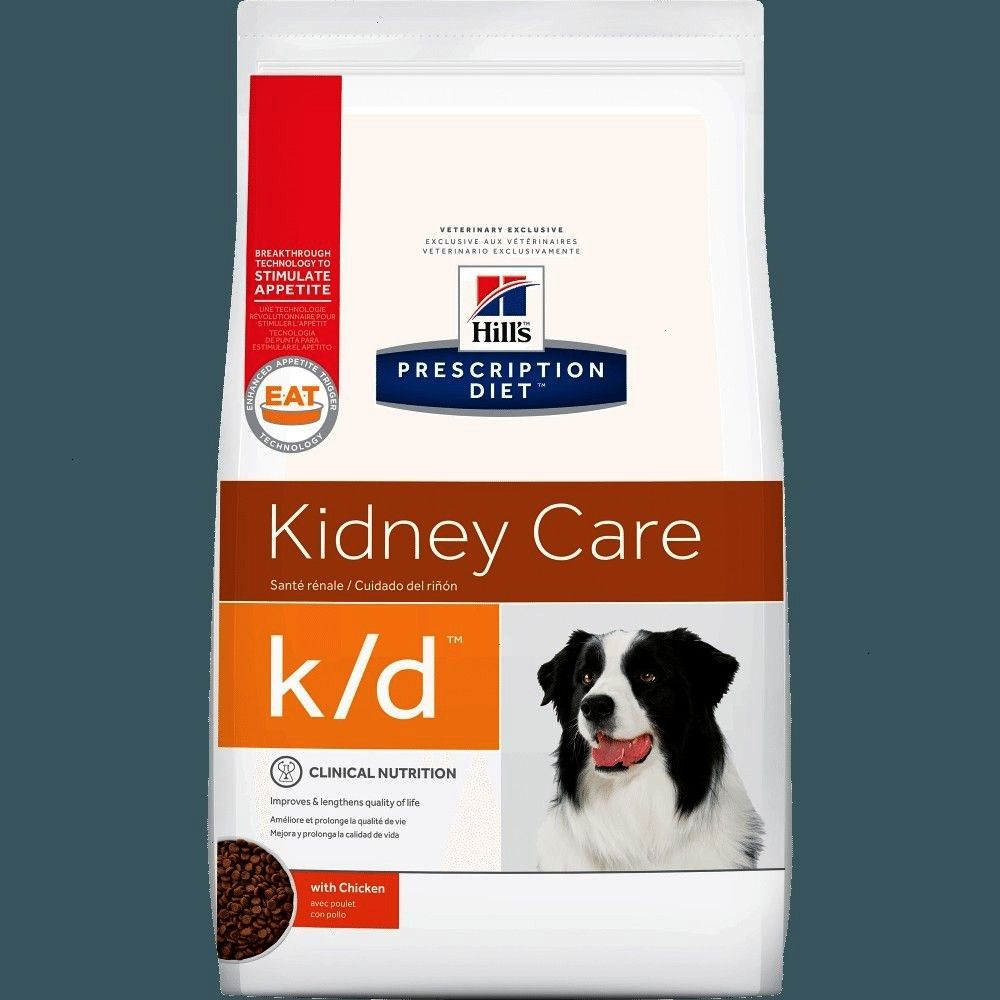 Diet kd Canine Kidney Care Chicken Formula Dry Dog Food Hills Prescription Diet kd Canine Kidney Care Chicken Formula Dry Dog Food  Hills Prescription Diet Metabolic Cani...