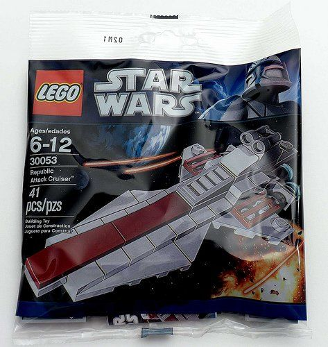 LEGO Star Wars Mini Building Set 30053 Republic Attack Cruiser ...