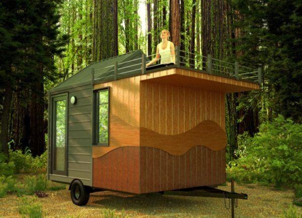 Best Zen Den Tiny 'Om' On Wheels With Rooftop Deck Rooftop 400 x 300