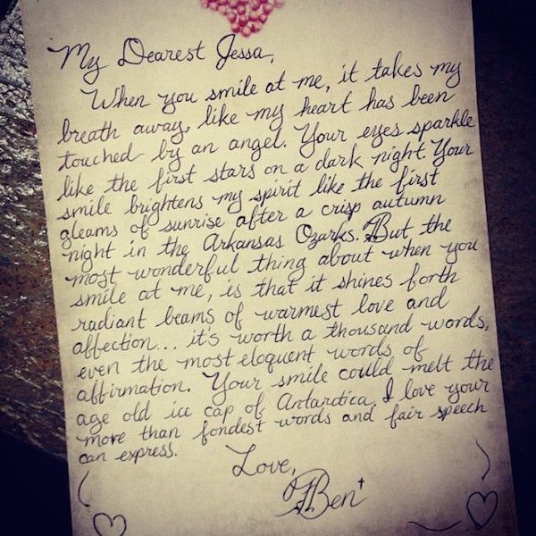 Pin by Natasha Gomes on Romance is not dead! Pinterest Romance - love letter to husband