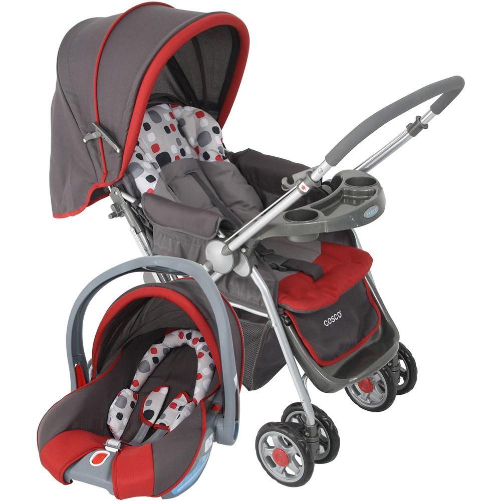 c85a25aa6 Carrinho de Bebê Cosco Travel System Reverse Vermelho -Bebês e Crianças - Carrinhos  de Bebê - Walmart.com