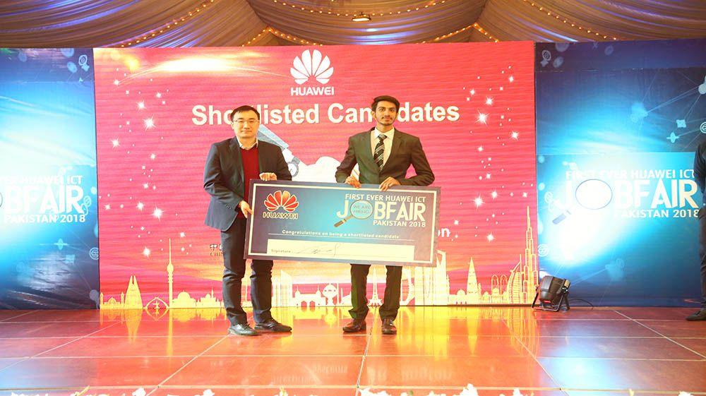 Huawei ICT Academy Organizes a Job Fair for Pakistani ICT