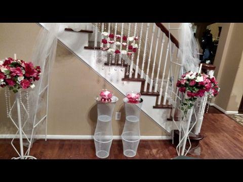 Diy Wedding Centerpiece Dollar Tree Reception Table