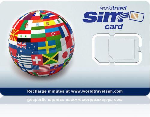 International SIM card - Works in 220 Countries