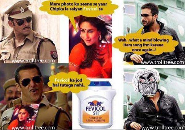 Fevicol ka Jod Hai Tutega Nahi..!!! - TrollTree Share #Bollywood Hindi Jokes @ http://www.trolltree.com/