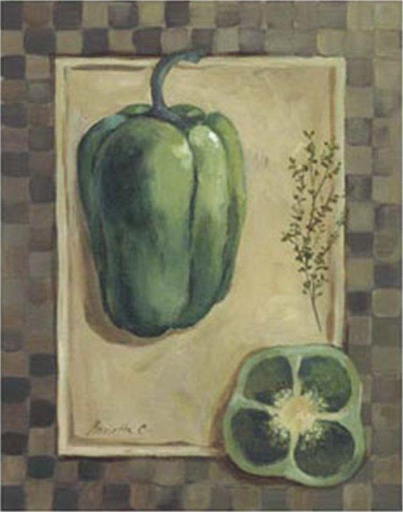 Veggies & Herbs I (Marietta Cohen)