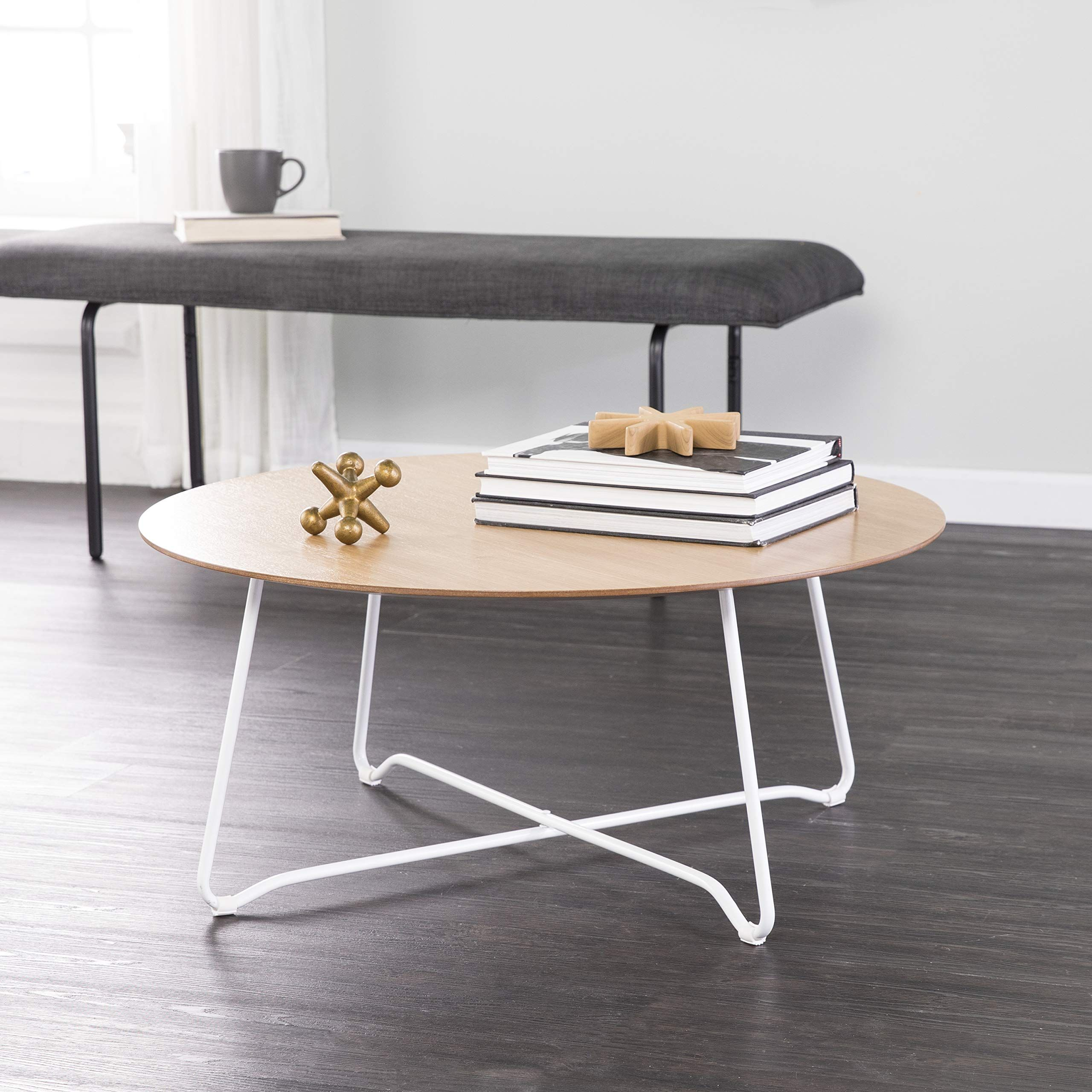 Holly And Martin Kacheri Wood And Metal Coffee Table Round You Can Learn More Details At Coffee Table Scandinavian Style Furniture Coffee Table With Storage [ 2560 x 2560 Pixel ]