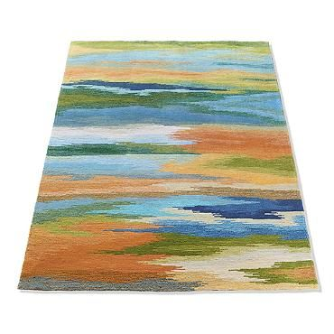 Watercolor Area Rug Area Rugs Indoor Rugs Watercolor Rug