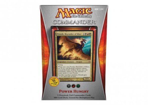Magic the Gathering  Commander 2013  Power Hungry Deck