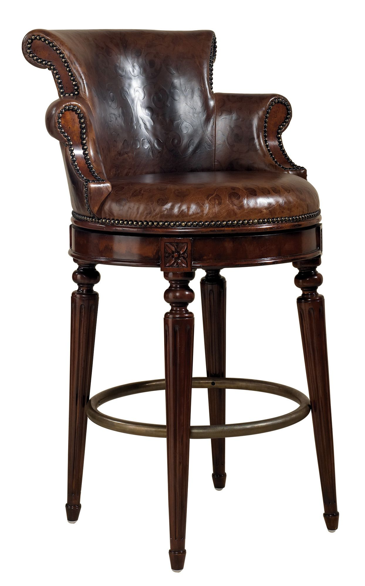 Counter Stool in Mahogany by MaitlandSmith Home Gallery