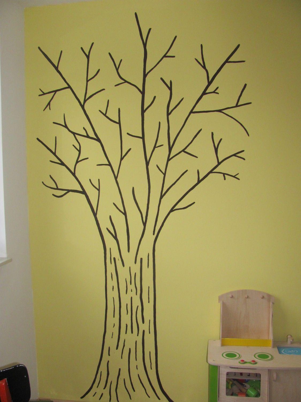 Ein baum f rs kinderzimmer from us with love - Baum kinderzimmer ...