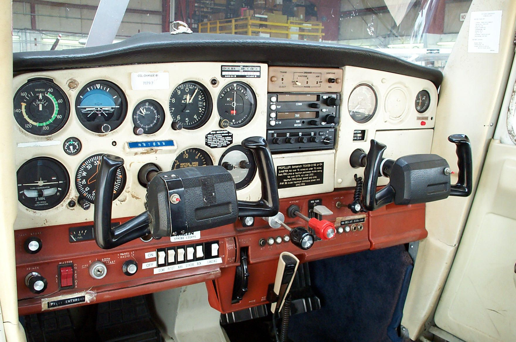 Cessna 172 Instrument Panel Diagram - Year of Clean Water