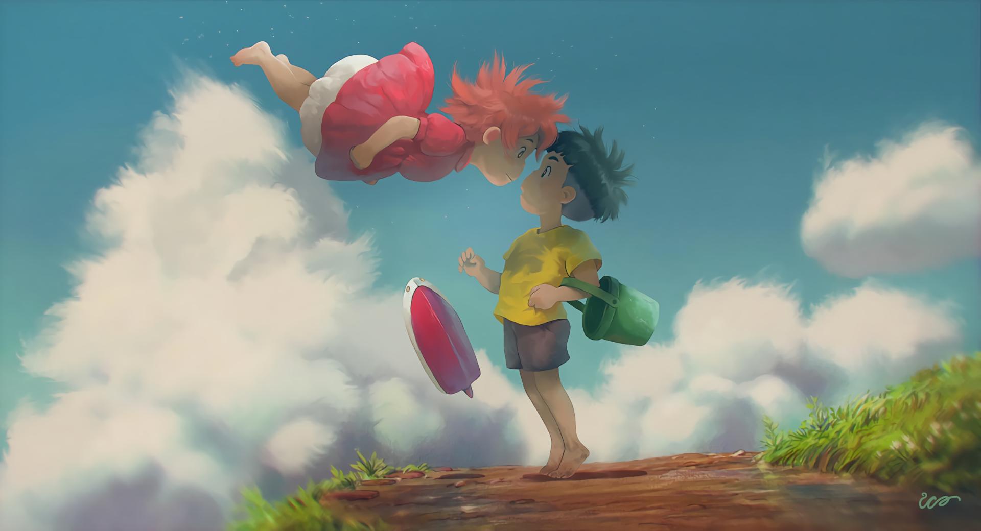 Movie Ponyo Studio Ghibli Sosuke Ponyo Wallpaper Ghibli Art Studio Ghibli Ponyo