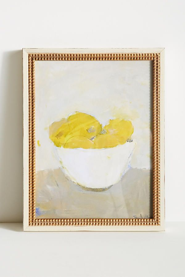Bowl of Lemons Wall Art | Bowls, Walls and Hearths