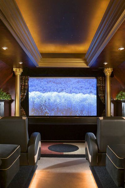 My Home Theater! I Loved Taking My Room Over And Creating