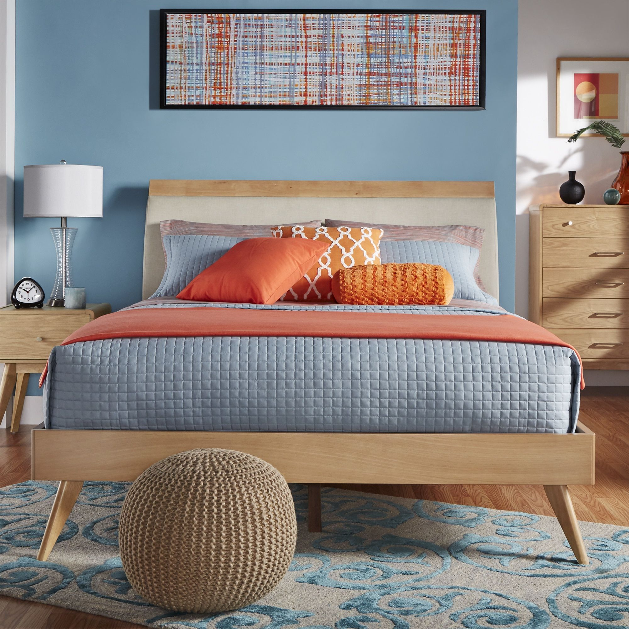 Platform Bed,Queen Beds: Transform the look of your bedroom by updating  possibly the