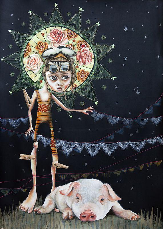 Lisa Torske > Obras seleccionadas 2012 - ilustres ilustradores