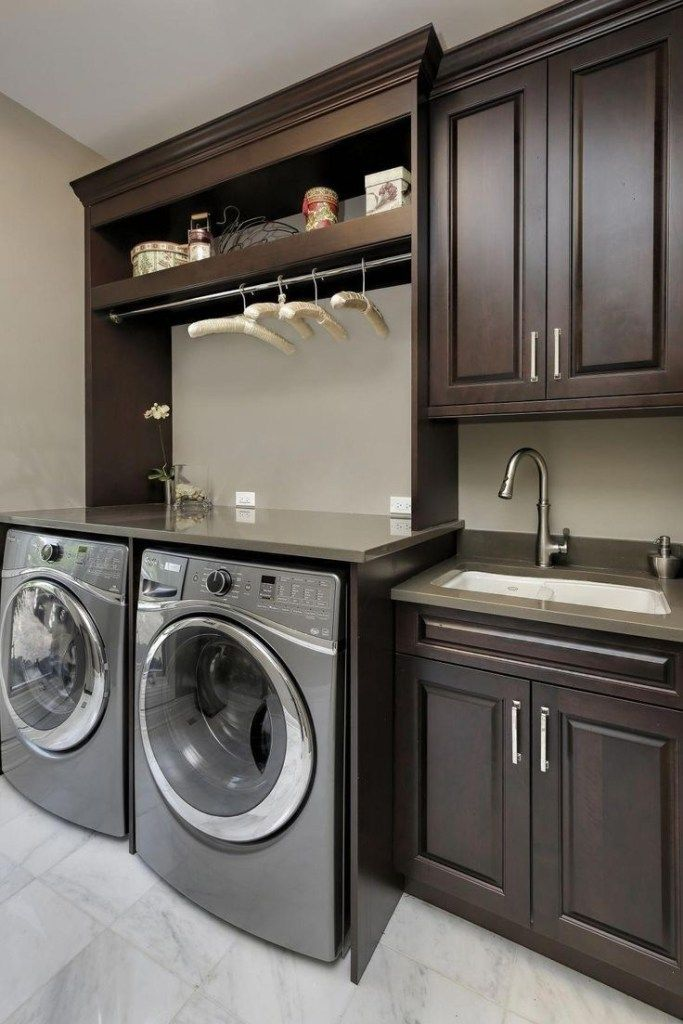 40 creative basement laundry room ideas for your home 6 ⋆ talkinggames.net #laundryrooms