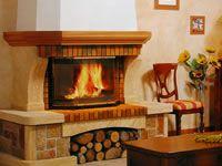 Chimeneas tradicionales rusticas salas comedor y cocina - Chimenea rustica de ladrillo ...
