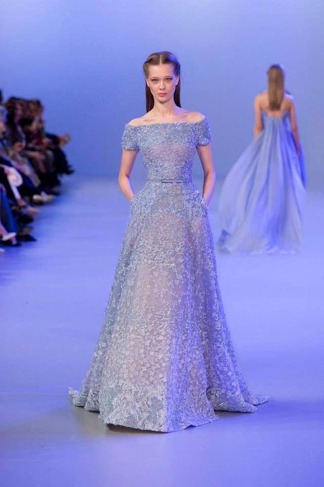 Fantástico Elie Saab Wedding Dresses 2014 Galería - Vestido de Novia ...