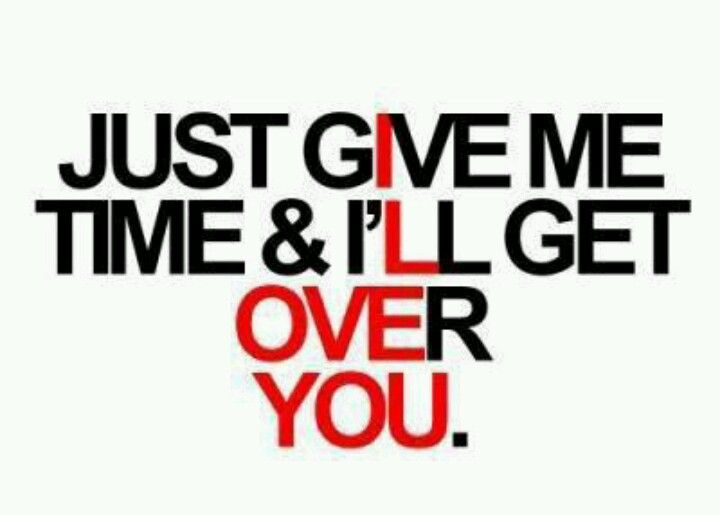 i ll get over you