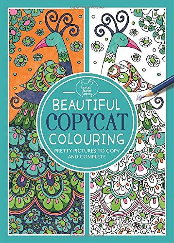 Beautiful Copycat Colouring (Colouring Book) by Cindy Wilde http://www.amazon.co.uk/dp/1780552564/ref=cm_sw_r_pi_dp_UB8.vb1E52M0D