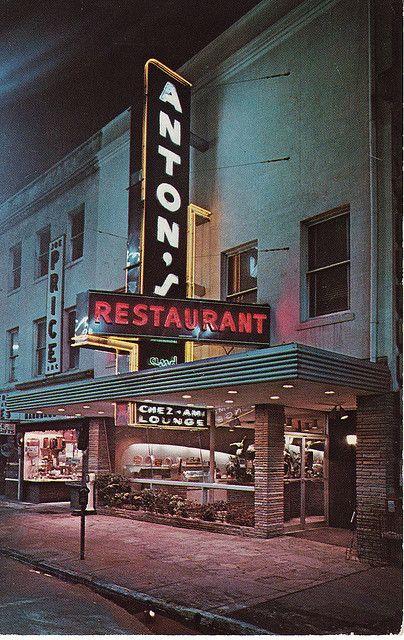 1960 Anton S Savannah Ga One Of America Better Restaurants Serving Breakfast