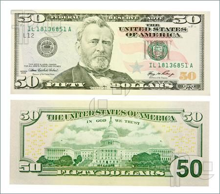 100 Dollar Bill Back Actual Size Image Gallery - Lapse Shot ...