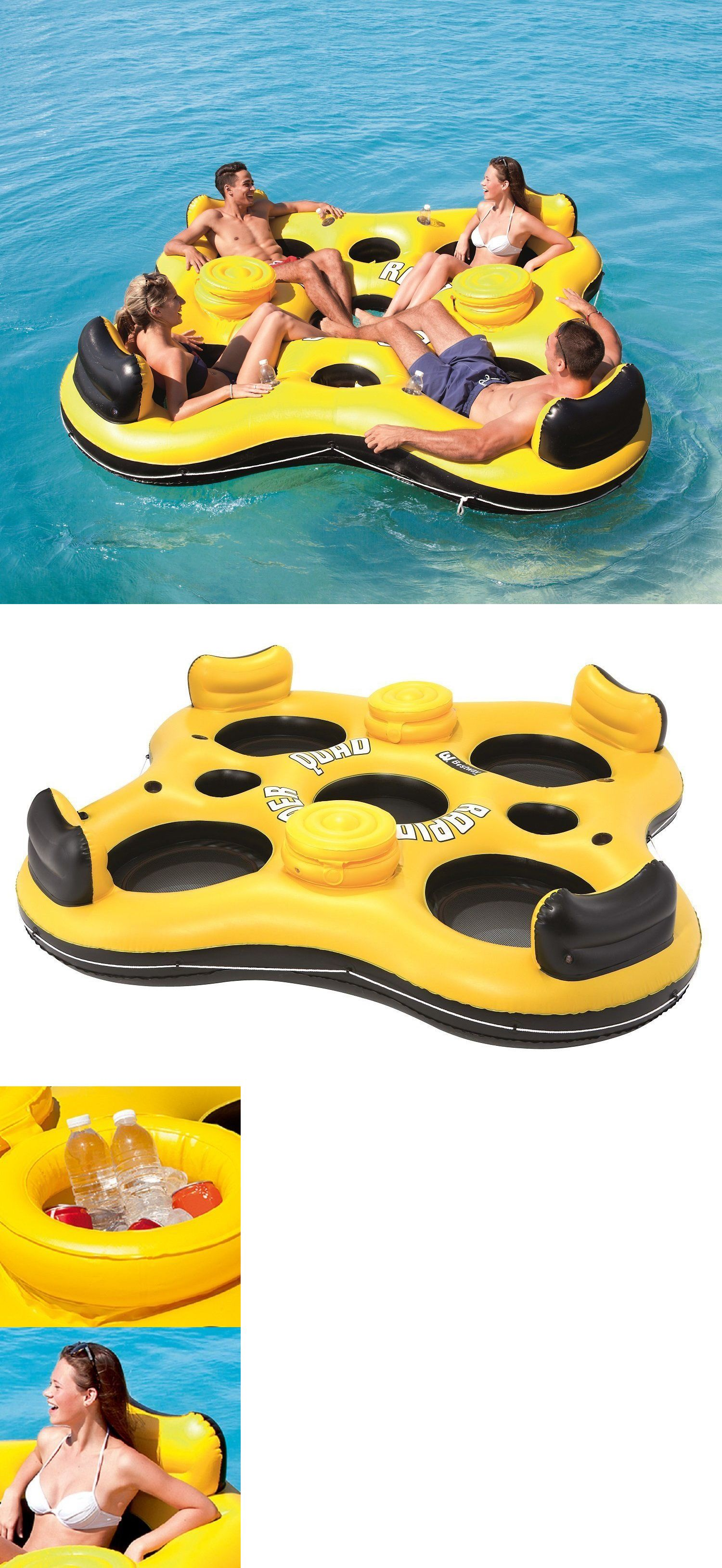 Floats Rafts Inflatable River Lake Pool Toy 4 Person